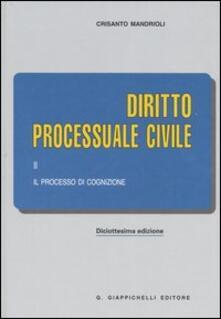 Camfeed.it Diritto processuale civile. Vol. 2: Il processo di cognizione. Image