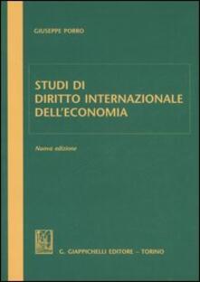 Camfeed.it Studi di diritto internazionale dell'economia Image