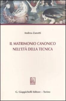 Camfeed.it Il matrimonio canonico nell'età della tecnica Image