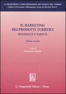 Voluntariadobaleares2014.es Il marketing dei prodotti turistici. Specificità e varietà. Vol. 2 Image