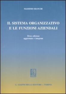 Il sistema organizzativo e le funzioni aziendali.pdf