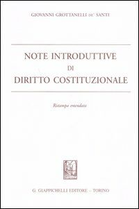 Note introduttive di diritto costituzionale