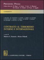 Contrasto al terrorismo interno e internazionale