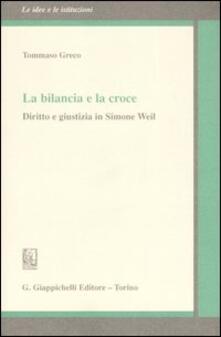 Rallydeicolliscaligeri.it La bilancia e la croce. Diritto e giustizia in Simone Weil Image