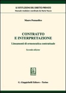 Letterarioprimopiano.it Contratto e interpretazione. Lineamenti di ermeneutica contrattuale Image