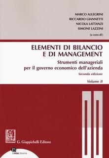 Gli elementi di bilancio e di management.pdf