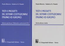 Winniearcher.com Testi e progetti del sistema costituzionale italiano ed europeo Image