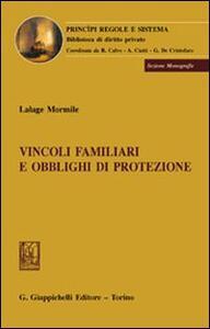 Vincoli familiari e obblighi di protezione