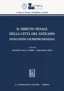 Mercatinidinataletorino.it Il diritto penale della Città del Vaticano. Evoluzioni giurisprudenziali Image