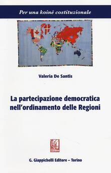 Radiospeed.it La partecipazione democratica nell'ordinamento delle regioni Image
