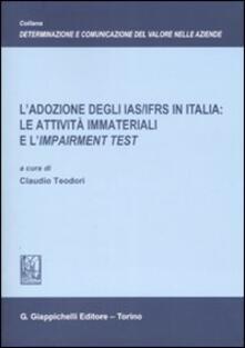 3tsportingclub.it L' adozione degli IAS/IFRS in Italia: le attività immateriali e l'Impairment test Image