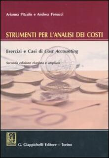 Squillogame.it Strumenti per l'analisi dei costi. Esercizi e casi di cost accounting. Con CD-ROM Image