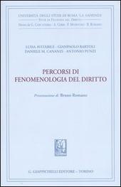 Percorsi di fenomenologia del diritto