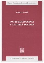 Patti parasociali e attività sociale