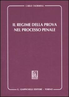 Grandtoureventi.it Il regime della prova nel processo penale Image