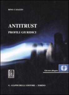 Osteriacasadimare.it Antitrust. Profili giuridici. Con CD-ROM Image