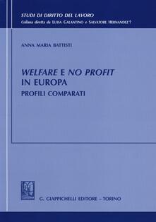 Partyperilperu.it Welfare e no profit in Europa. Profili comparati Image