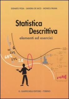 Rallydeicolliscaligeri.it Statistica descrittiva. Elementi ed esercizi Image