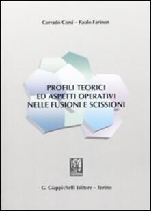 Premioquesti.it Profili teorici ed aspetti operativi nelle fusioni e scissioni Image