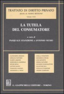 Foto Cover di Trattato di diritto privato. La tutela del consumatore. Vol. 30, Libro di  edito da Giappichelli
