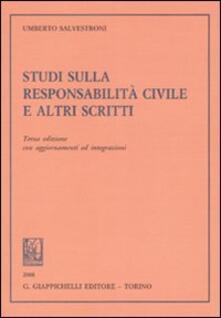 Voluntariadobaleares2014.es Studi sulla responsabilità civile e altri scritti Image