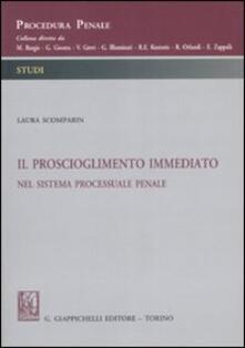 Il proscioglimento immediato nel sistema processuale penale.pdf