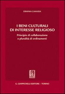 Lpgcsostenible.es I beni culturali di interesse religioso. Principio di collaborazione e pluralità di ordinamenti Image