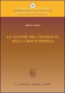 Foto Cover di Le vicende del contratto nella crisi d'impresa, Libro di Bruno Meoli, edito da Giappichelli