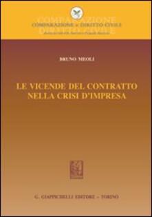 Premioquesti.it Le vicende del contratto nella crisi d'impresa Image