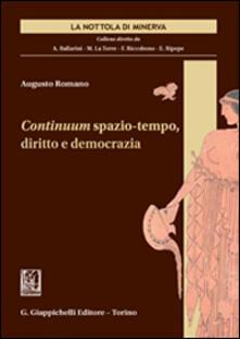 Writersfactory.it Continuum spazio-tempo, diritto e democrazia Image