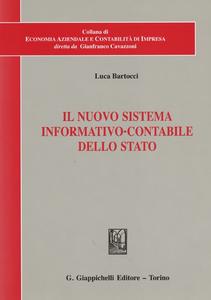 Libro Il nuova sistema informativo-contabile dello Stato Luca Bartocci