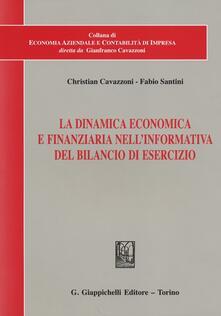 Letterarioprimopiano.it La dinamica economica e finanziaria nell'informativa del bilancio di esercizio Image