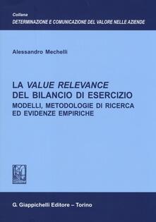 Ristorantezintonio.it La value relevance del bilancio di esercizio. Modelli, metodologie di ricerca ed evidenze empiriche Image