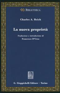 Libro La nuova proprietà Charles A. Reich