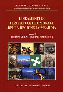 Libro Lineamenti di diritto costituzionale della Regione Lombardia