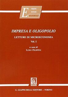 Librisulladiversita.it Impresa e oligopolio. Letture di microeconomia Image