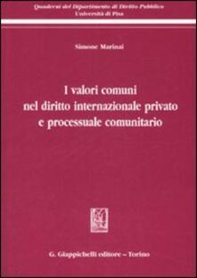 Aboutschuster.de I valori comuni nel diritto internazionale privato e processuale comunitario Image