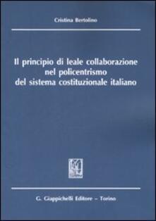 Listadelpopolo.it Il principio di leale collaborazione nel policentrismo del sistema costituzionale italiano Image