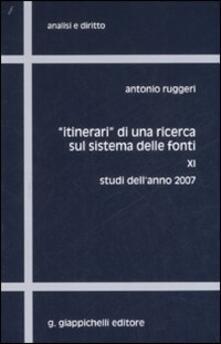 Camfeed.it «Itinerari» di una ricerca sul sistema delle fonti. Vol. 11: Studi dell'anno 2007. Image
