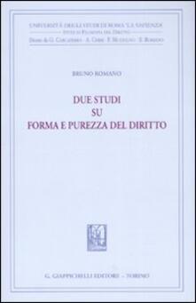 Due studi su forma e purezza del diritto.pdf
