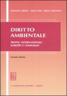 Winniearcher.com Diritto ambientale. Profili internazionali europei e comparati Image