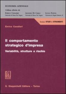 Il comportamento strategico dimpresa. Variabilità, strutture e rischio.pdf