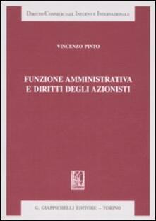 Funzione amministrativa e diritti degli azionisti.pdf
