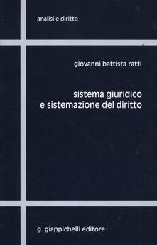 Sistema giuridico e sistemazione del diritto.pdf