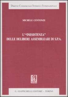 L «inesistenza» delle delibere assemblari di S.p.A.pdf