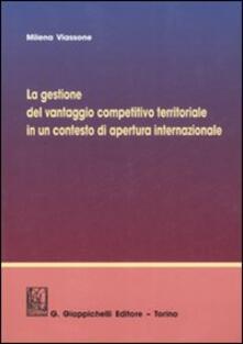Radiospeed.it La gestione del vantaggio competitivo territoriale in un contesto di apertura internazionale Image