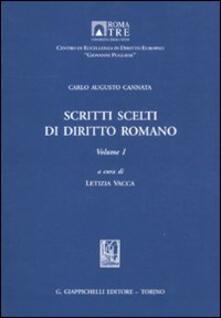 Adiaphora.it Scritti scelti di diritto romano. Vol. 1 Image