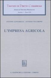 Trattato di diritto commerciale. Sez. I. Vol. 2/2: L'impresa agricola.