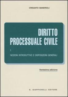 Diritto processuale. Vol. 1: Nozioni introduttive e disposizioni generali..pdf