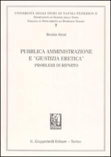 Squillogame.it Pubblica amministrazione e «giustizia eretica». Problemi di riparto Image